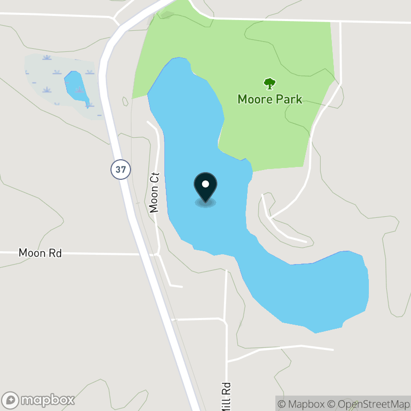 Half Moon Lake (MI) Map