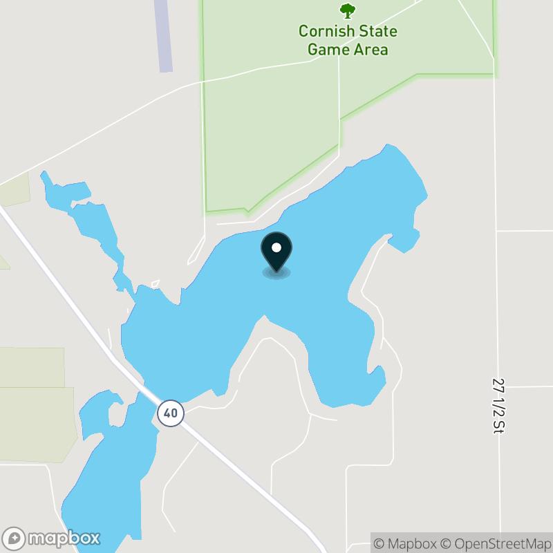 Cedar Lake (MI) Map