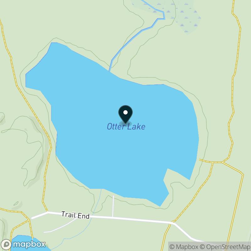 Otter Lake (MI) Map