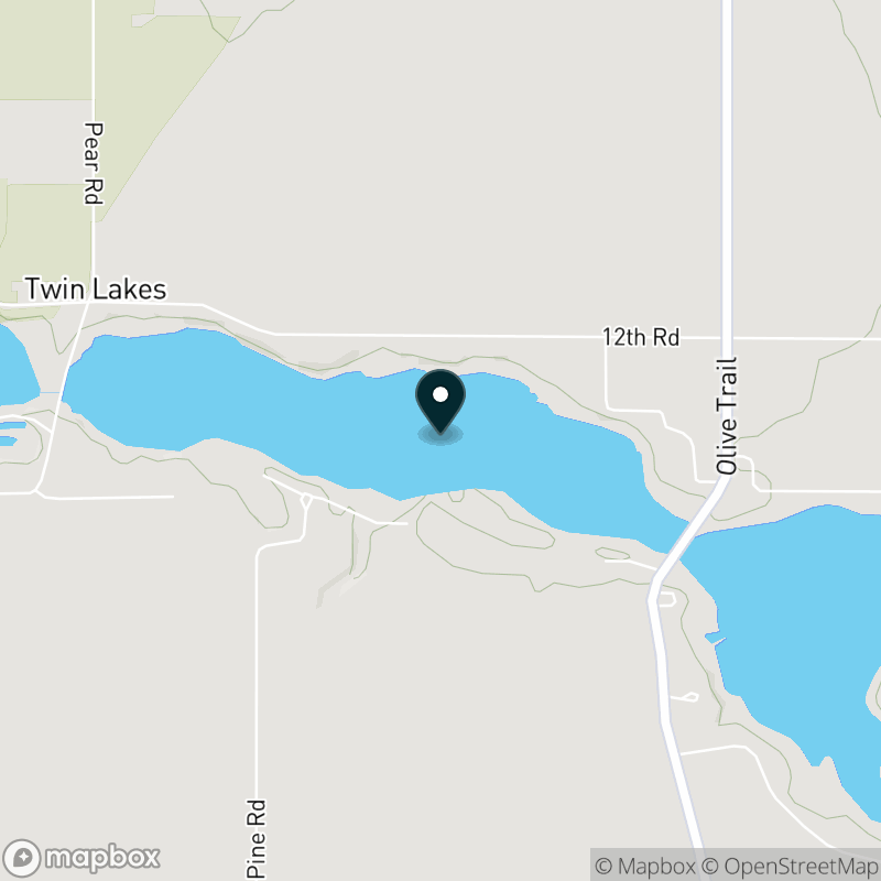 Myers Lake (IN) Map