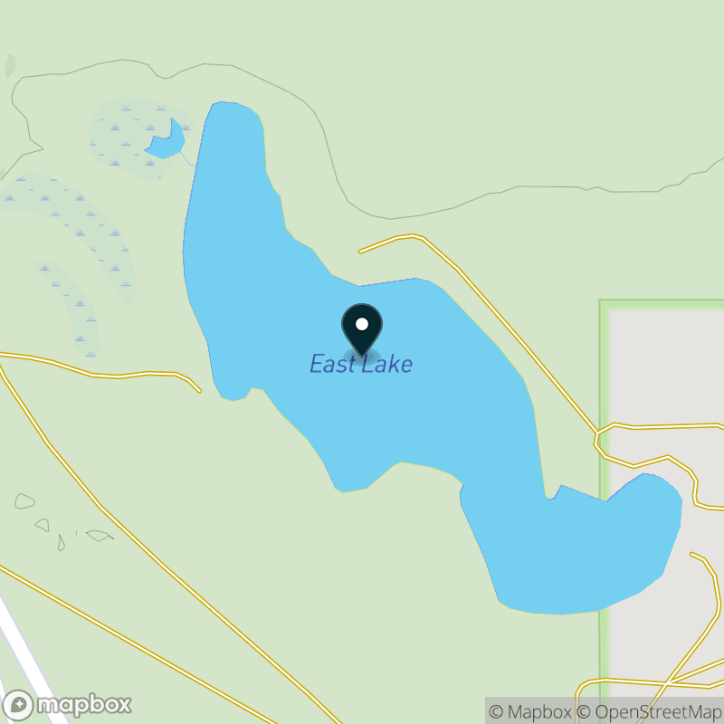 East Lake (MI) Map