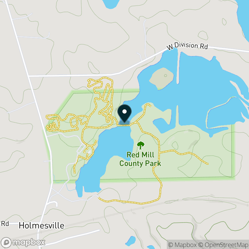 Round Lake (IN) Map