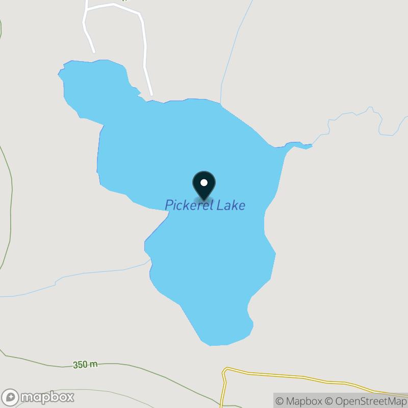 Pickerel Lake (MI) Map