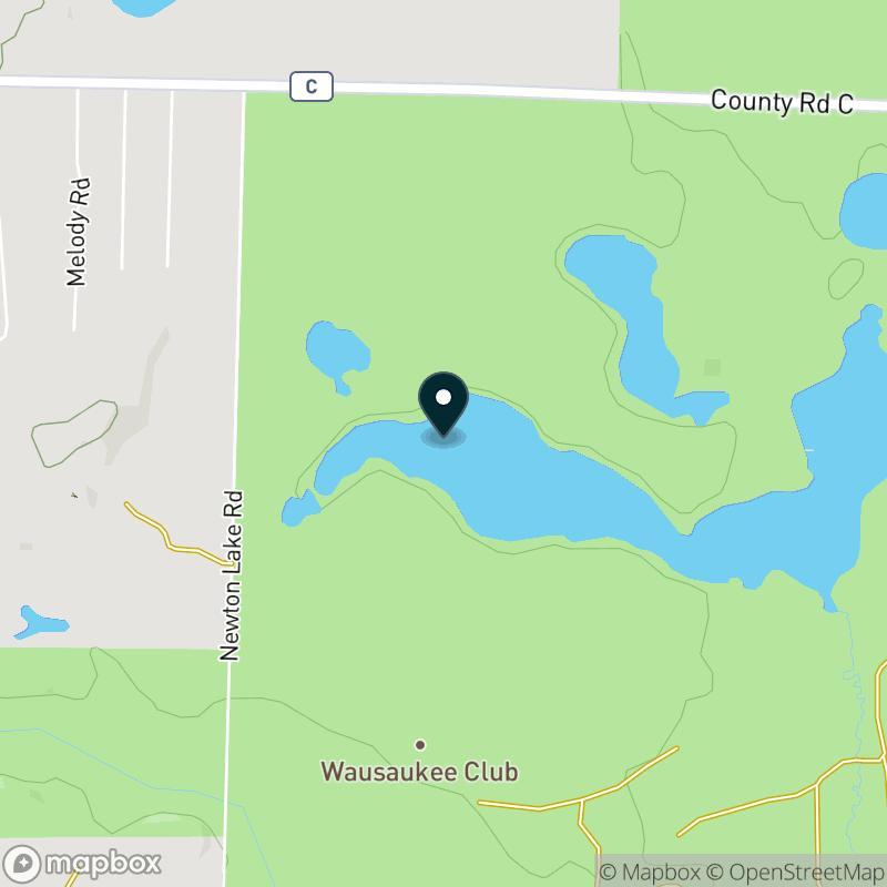 Elbow Lake (WI) Map