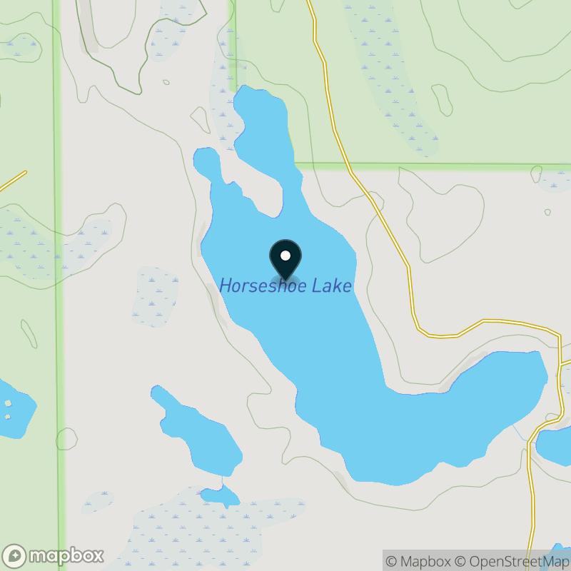 Horseshoe Lake (MI) Map