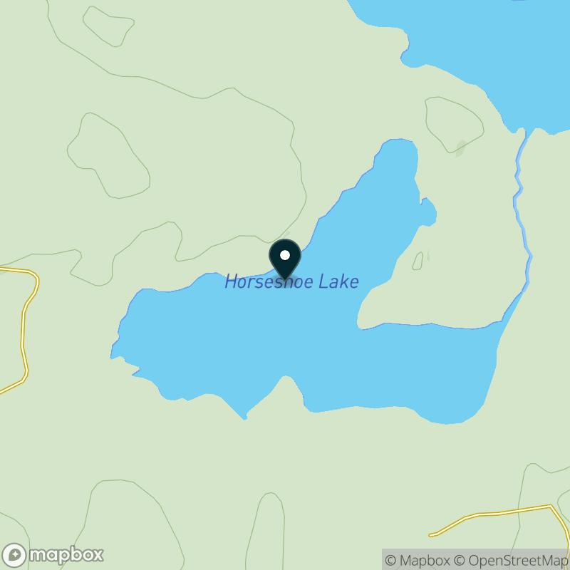 Horseshoe Lake (WI) Map