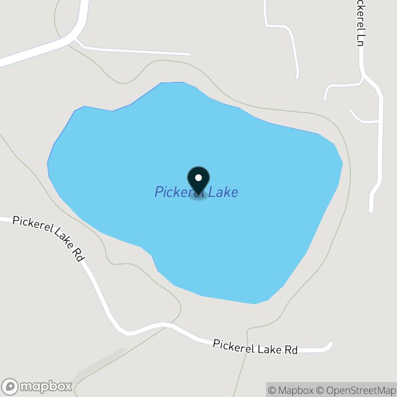 Pickerel Lake Map