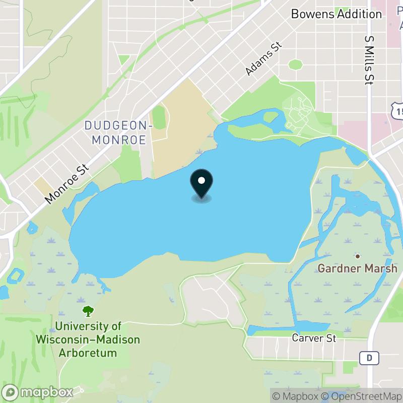 Lake Wingra Map