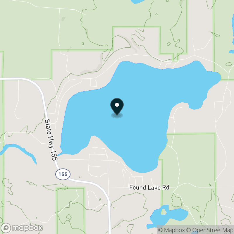 Lost Lake (WI) Map