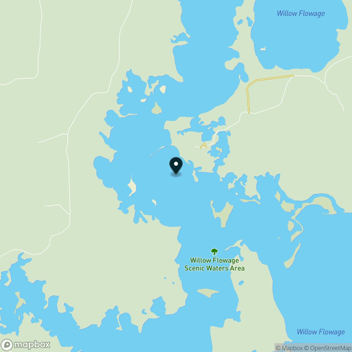 Willow Reservoir Map