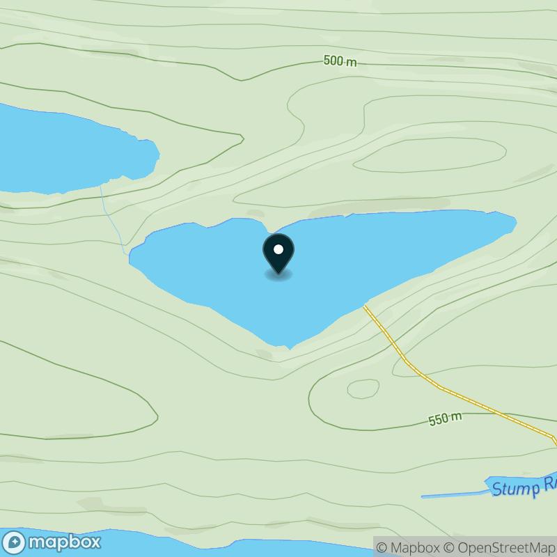 Bench Lake Map