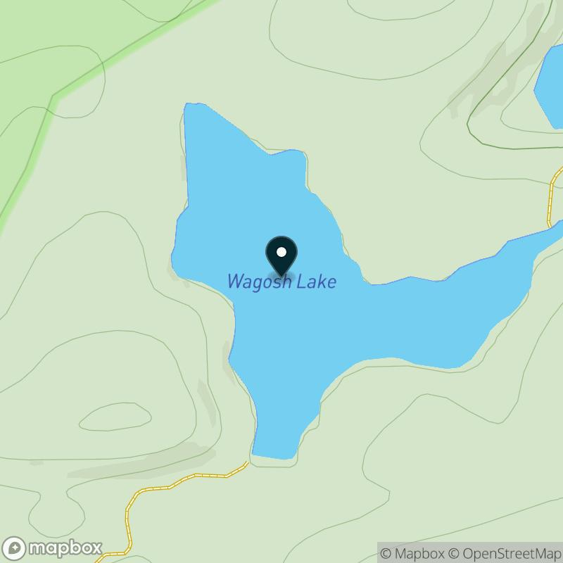 Wagosh Lake Map