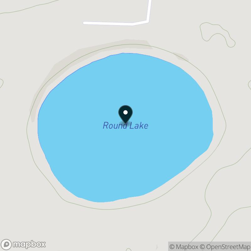 Round Lake (WI) Map