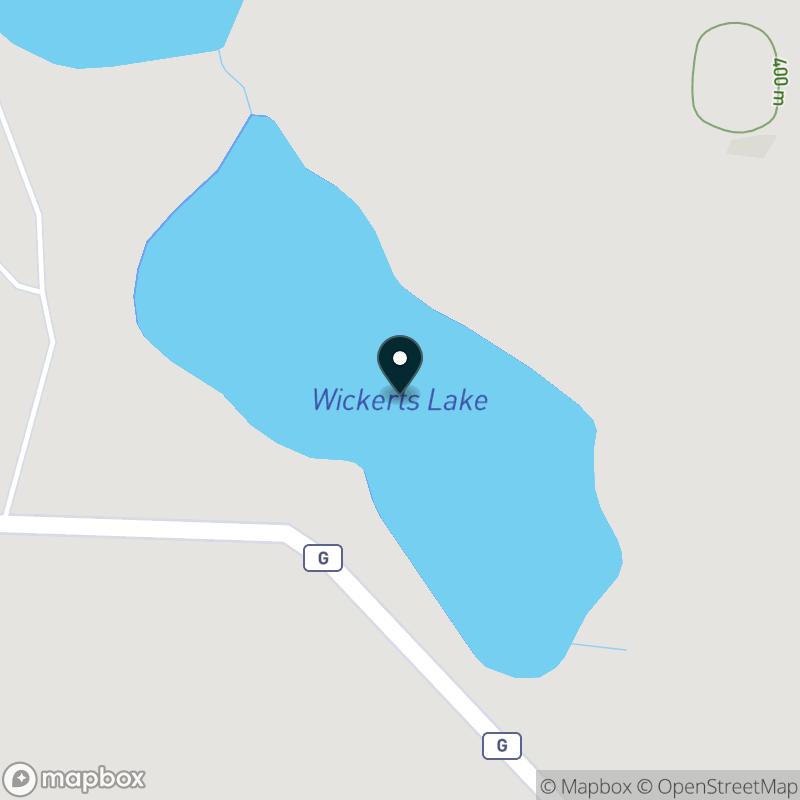 Wickerts Lake Map