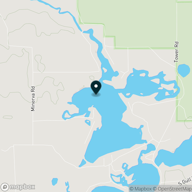 Minerva Lake (WI) Map