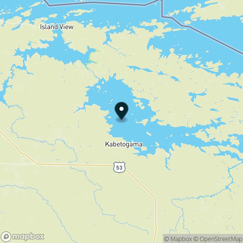 Kabetogama Lake Map