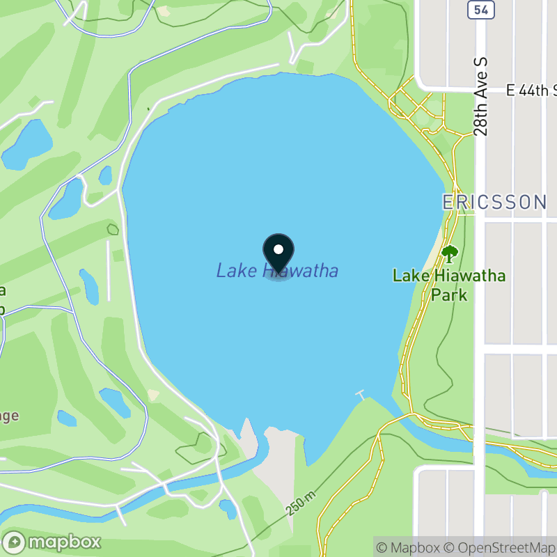 Lake Hiawatha Map