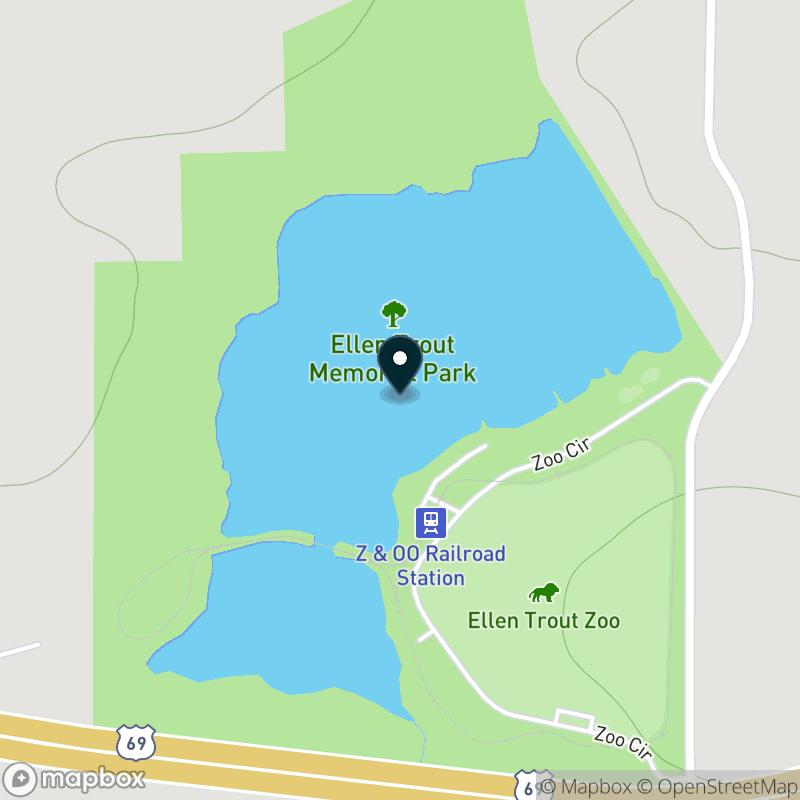 City Lake (TX) Map