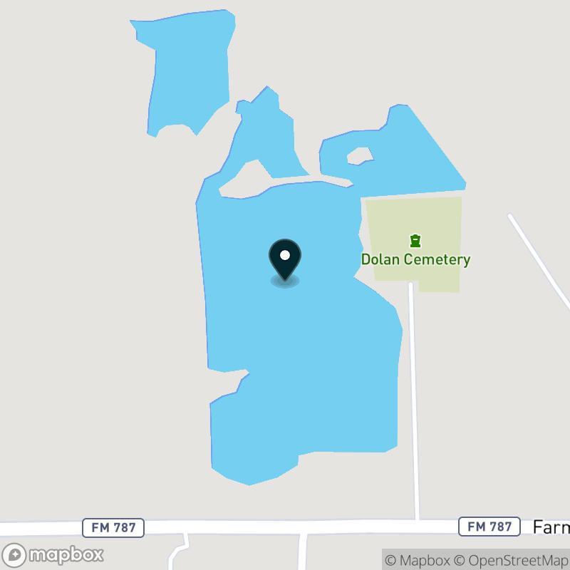 Smith Lake (TX) Map
