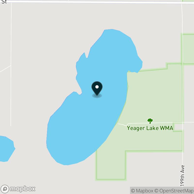 Yaeger Lake Map