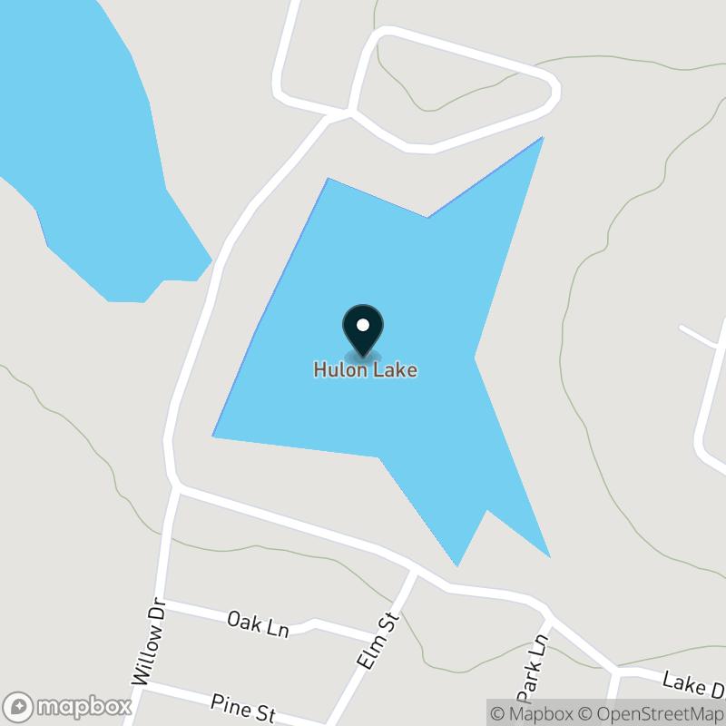 Hulon Lake Map