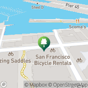 Map San Francisco Bicycle Rental San Francisco, United States