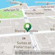 Map Blazing Saddles San Francisco, United States