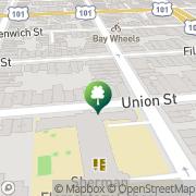 Map Pilates On Union San Francisco, United States