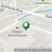 Map As de Guia Escuela Náutica Areeta, Spain