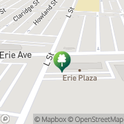 Map Brunswick Erie Lanes Philadelphia, United States