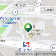 Map Donald A. Boardman Philadelphia, United States