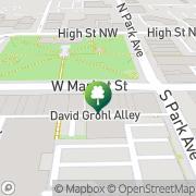 Map American Martial Arts Warren, United States