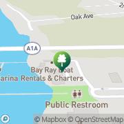 Map Beaches Marina City of Saint Augustine, United States