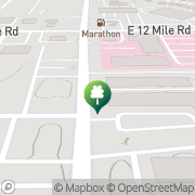 Map Karate and Fitness Center Warren, United States