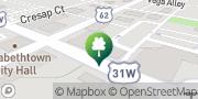 Map KARMA Yoga and Hot Yoga Elizabethtown, United States
