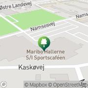 Kort Svømmehallen Maribo, Danmark