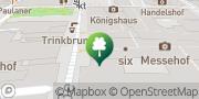 Karte Fitness First Leipzig - Messehof Leipzig, Deutschland