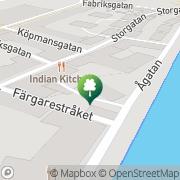 Karta Gordon ASK Konsult AB Falkenberg, Sverige