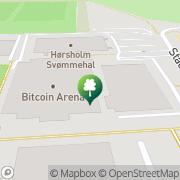 Kort Hørsholm Svømmeforening Rungsted, Danmark