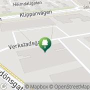Karta Träningsakademin Ängelholm, Sverige