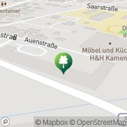 Karte Fitnessstudio Kamenz Kamenz, Deutschland