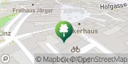 Karte M.A.N.D.U. Linz Mitte Linz, Österreich