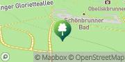Karte Schönbrunnerbad Wien, Österreich
