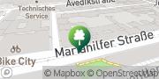 Karte Mrs.Sporty Club Wien-Schwendermarkt Wien, Österreich