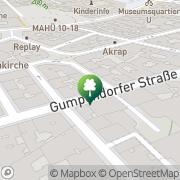 Karte Seminarzentrum Satisfaction Wien, Österreich