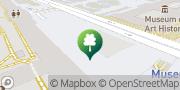 Karte KÖR Kunst im öffentlichen Raum Wien, Österreich