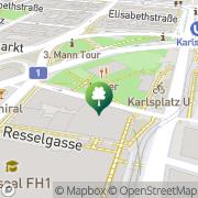Karte Citybike (Treitlstraße) Wien, Österreich