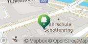 Map Bikram Yoga Schottenring Vienna, Austria