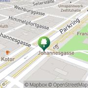 Karte Citybike (Johannesgasse) Wien, Österreich