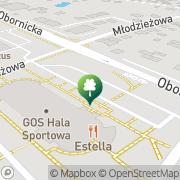 Mapa Gminny Ośrodek Sportu Suchy Las, Polska